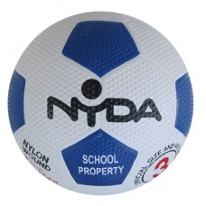 Nyda Rubber Nylon Soccer Ball size 3 Kit