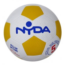 Nyda Rubber Nylon Soccer Ball size 5 Kit
