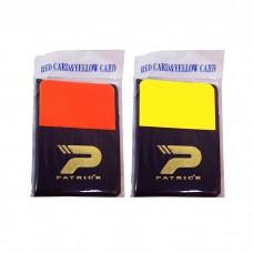 Referee Warning Cards