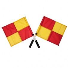 Soccer Linesman Flags with Cushion Grip (pair)