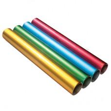 Aluminium Junior Relay Baton - Set of 4