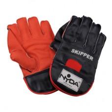 Wicket Keeper Gloves Leather Skipper Senior