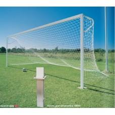 'P' Shape Junior Soccer Goals (pair) *plus delivery
