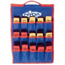 Flag Football Belt Kit (30 plus bag) Red/Yellow