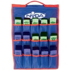 Flag Football Belt Kit (30 plus bag) Blue/Green
