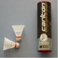 Carlton Tournament Red Nylon Badminton Shuttles (tube of 6)