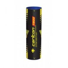 Carlton Tournament Red Nylon Badminton Shuttles (tube of 6) - Yellow