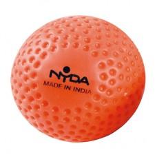 Nyda Dimple Hockey Ball Neon Orange