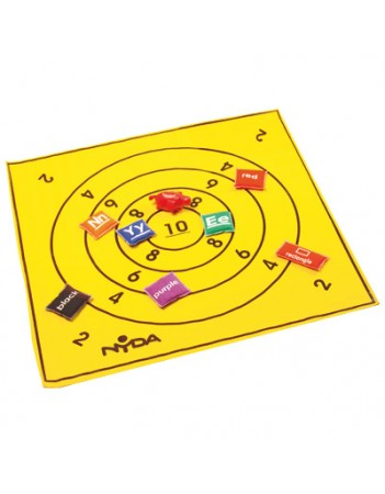 Activity mat - bullseye