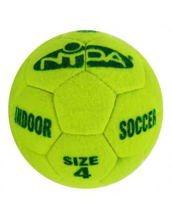 Indoor Soccer Ball Felt Covered Size 4