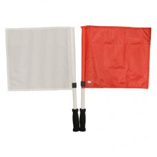Changeover Flags Red/White Pair