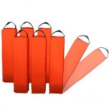 Foam Bollards 45cm (set of 6)
