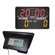 Multi Sports Electronic Scoreboard Desktop Timer
