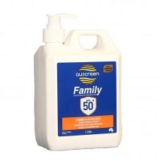Sunscreen 50+ 1L Pump Pack