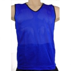 Training Vest Blue - Set of 10 - Small