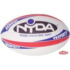Nyda Rugby Union Ball Mini
