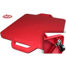 Scooter Board Red Plastic