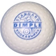 Kookaburra Dimple White Hockey Ball