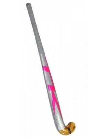 "Pink/Purple TK Poly Fibre Hockey Stick 36"""