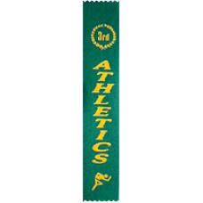 Third Place Athletics Ribbon (Pack 100)