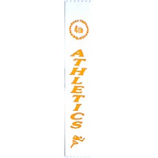 Fourth Place Athletics Ribbon (Pack 100)