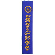 First Place Cross Country Ribbon (25)