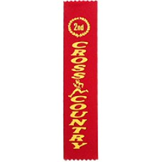 Second Place Cross Country Ribbon (25)
