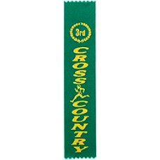 Third Place Cross Country Ribbon (25)