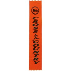 Sixth Place Cross Country Ribbon (25)