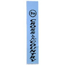 Ninth Place Cross Country Ribbon (25)
