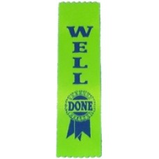 Well Done Ribbons - Pack 100