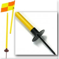 Corner Flag Post With Spike & Flag