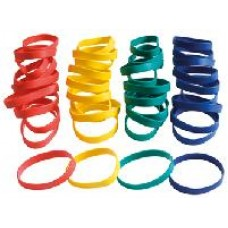 Wrist Band Junior Kit of 40 (10 Each Colour)