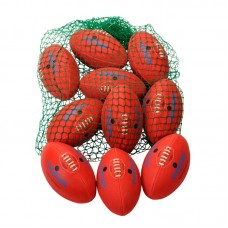 NYDA AFL Ball Kit Size 5 (Senior Secondary) - Red