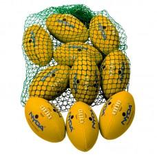NYDA AFL Ball Kit Size 3 (Senior Primary) - Yellow
