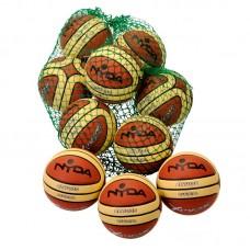 Celestial Rubber Basketball size 5 *10 balls & std sack