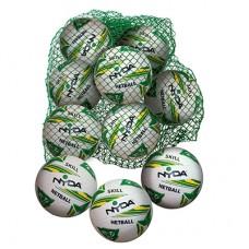 Nyda Skill Netball size 5  - 10 balls & std sack