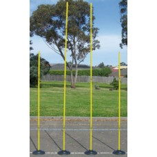Portable AFL Goals Senior (Set 4) With Rubber Base