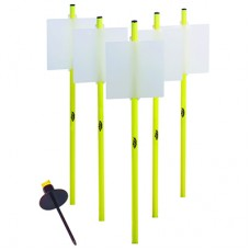 Activity Whiteboard Pole Set - Spike Base