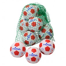 Nyda Rubber Nylon Soccer Ball size 4 Kit