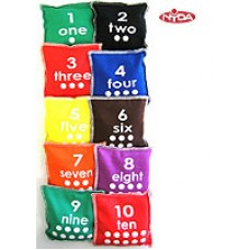 Numbered Bean Bags (set 1-10)