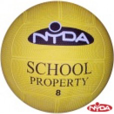 Nyda Deluxe Rubber Playball 20cm