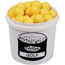 Bucket Foam Practice Golf Balls (5doz Balls + 5 Ltr Bucket)