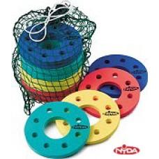 Foam Flying Disc Kit - 15 + small sack