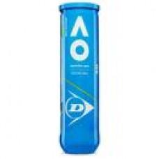 Dunlop Australian Open Tennis Balls - Can of 4