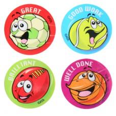 Sports Themed Award Stickers