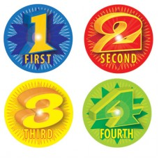1st-4th Award Stickers - pack of 96