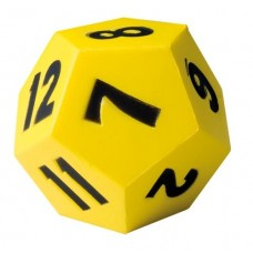 12 Sided Foam Dice