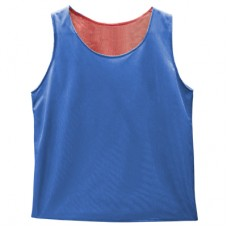 Reversible Mesh Vest  Red/Blue - Small