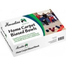 Henselite Indoor Carpet Bowls - set